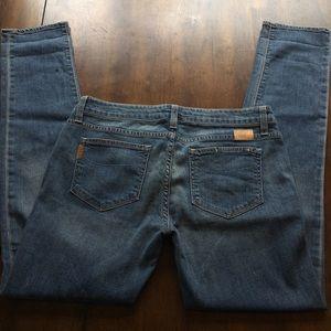 Paige Jimmy Jimmy Skinny Denim Jeans Light Wash 28